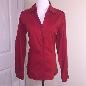 NWT Worthington Red Business Shirt